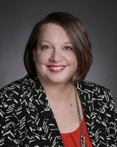 headshot of arts administrator Jennifer Allen-Barron